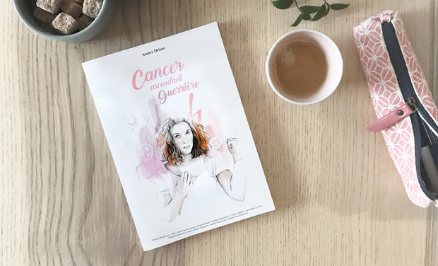 Project visual Roman illustré : Cancer ascendant guerrière