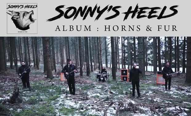"Project visual Sonny's Heels - First Album ""Horns & Fur"""
