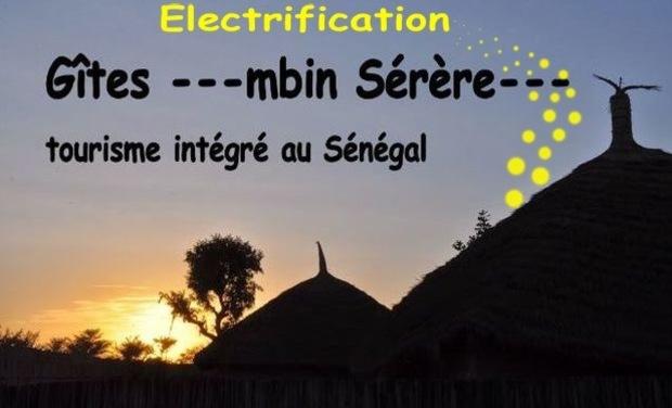Visuel du projet Aidez-nous : Electricité aux gîtes ---Mbin Sérère---