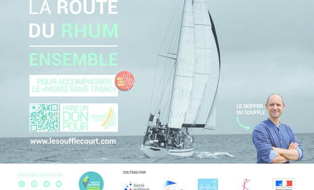 Visueel van project Le Souffle court la Route du Rhum 2018