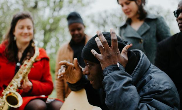 Project visual Le 13ème son, musique en exil