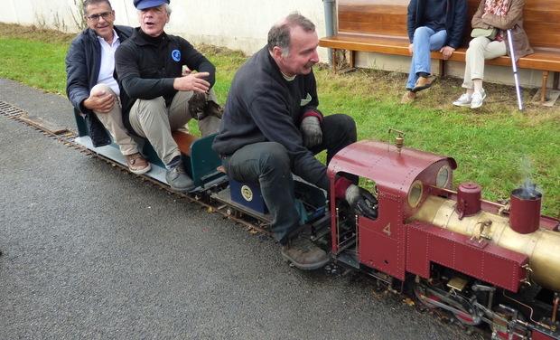 Visueel van project Un petit train en vapeur vive pour Crevecoeur