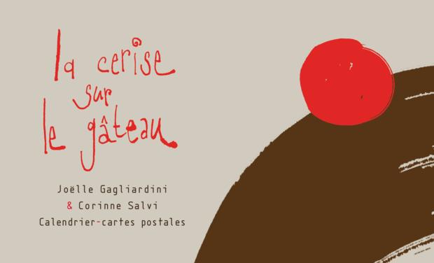 Visuel du projet Calendrier-cartes postales La cerise sur le gâteau