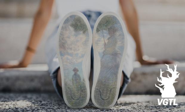 Project visual VGTL La chaussure stylée, et eco-conçue.