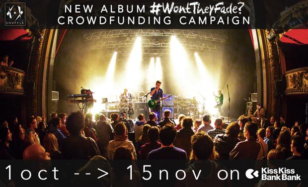 Visuel du projet Shuffle, second album !!!