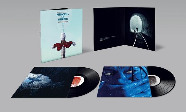 Visuel du projet MEMORIES OF MURDER: l'edition vinyle de la musique du film par Tarō Iwashiro