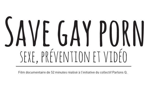 Visuel du projet Save Gay Porn