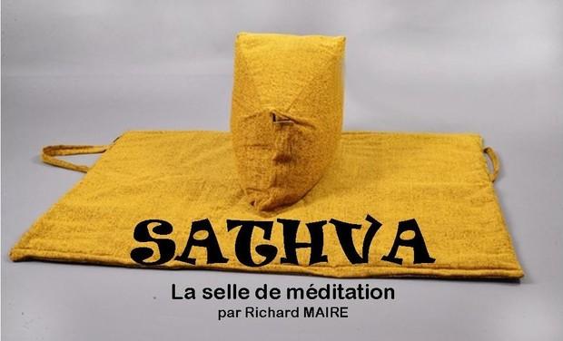 Visueel van project Méditer confortablement avec la selle de méditation Sathva.