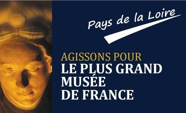 Visueel van project Le plus grand musée de France. Pays de Loire