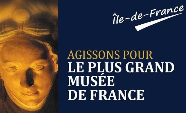 Visueel van project Le plus grand musée de France. Île-de-France.