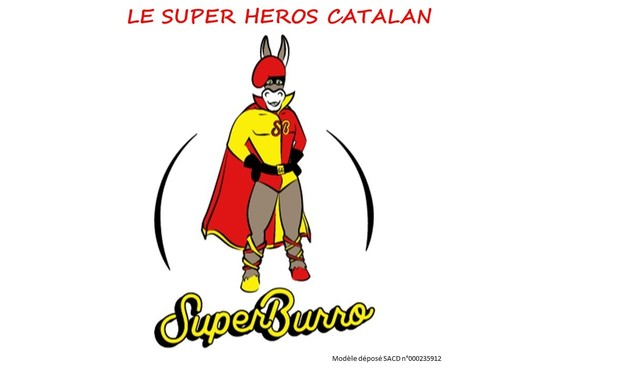 Project visual LES AVENTURES DE SUPER BURRO LE HÉROS CATALAN
