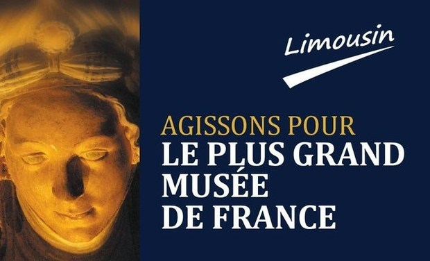 Project visual Le plus grand musée de France. Limousin