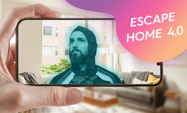 Visuel du projet Escape Home 4.0 : un Escape Game chez vous encore + immersif !