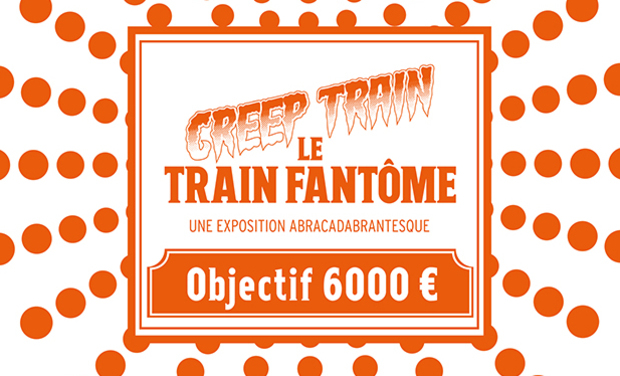 Project visual CREEP TRAIN - le Train Fantôme : l'exposition