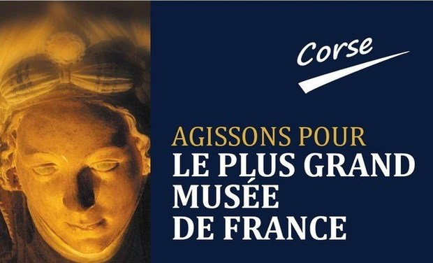 Visueel van project Le plus grand musée de France. Corse