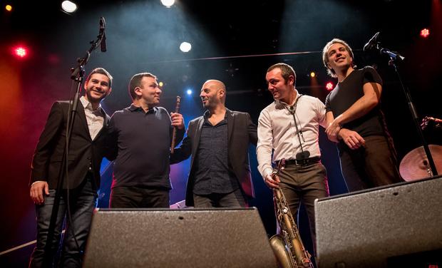 Visuel du projet Alexis Avakian Quintet + Miqayel Voskanyan nouvel album MIASIN