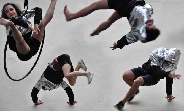 Project visual Neptumium Ratons - Spectacle cirque hiphop !