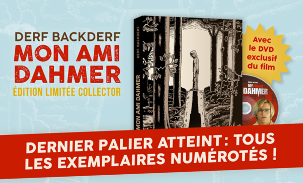 "Project visual ""Mon ami Dahmer"" édition collector"