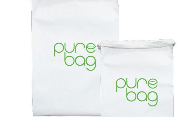 Project visual Aidez à lancer le sac poubelle écologique Pure Bag