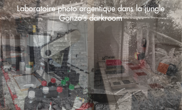 Project visual Laboratoire photo argentique dans la Jungle
