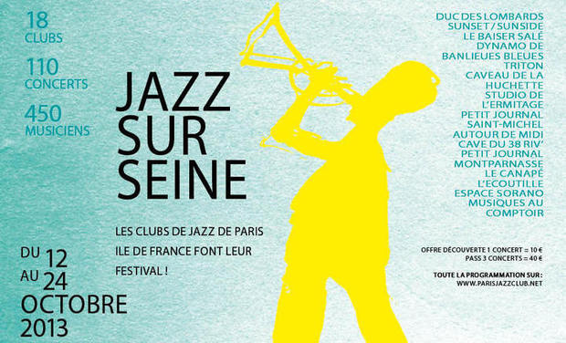 Project visual Jazz sur Seine 2013 : Ateliers de sensibilisation