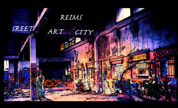 Project visual Reims street art city