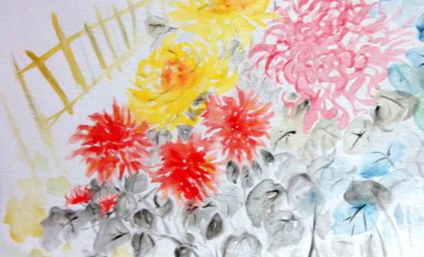 Project visual Aquarelles - Laura Kym