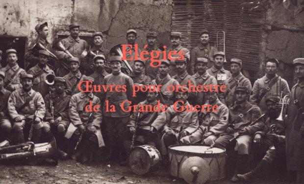 Visuel du projet Elégies - œuvres pour orchestre de la Grande Guerre