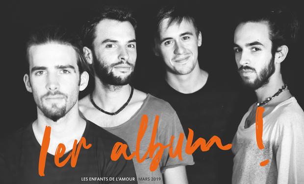 Visuel du projet Les Enfants de l'Amour / Premier album de Minuit 10 !