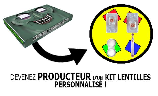 Project visual Kit de lentilles de couleur
