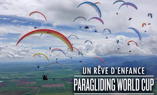 Project visual Finale de la coupe du monde de Parapente