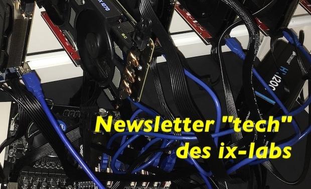 """Visuel du projet Newsletter """"tech"""" des ix-labs"""