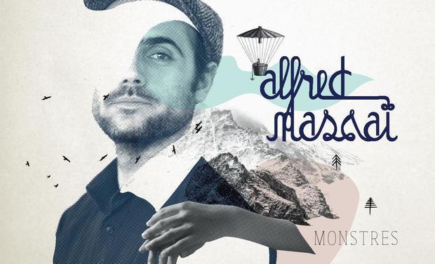 Visuel du projet Alfred Massaï // 3 ème album : Monstres