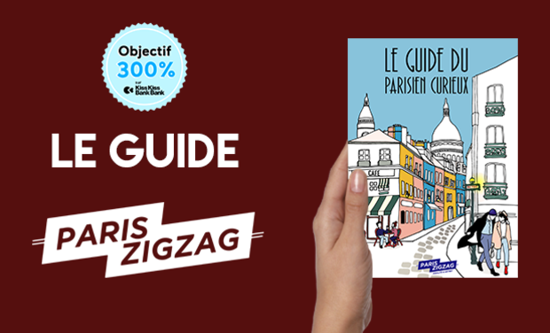 Project visual Le Guide du Parisien Curieux