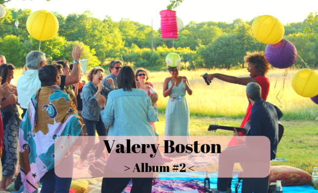 Visueel van project Valery Boston -  Nouvel album