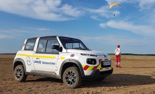Visuel du projet Un véhicule de secours électrique pour l'UNASS Eure Seine