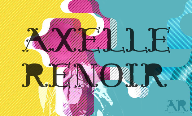 Project visual AXELLE RENOIR - Nouvel EP 5 titres + Clip