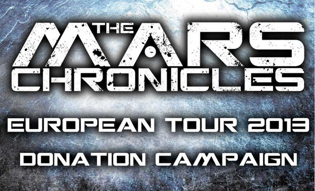 Project visual The Mars Chronicles European Tour 2013 Donation Campaign