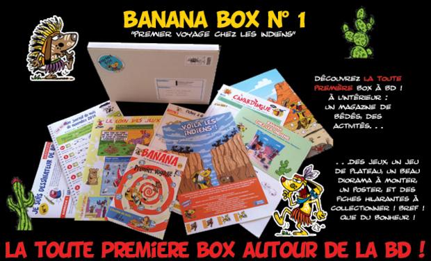 Project visual BANANA BOX