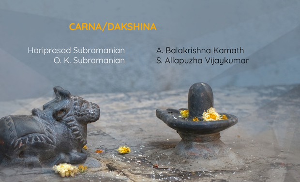 Project visual CARNA/DAKSHINA - Winds & Percussions of South India