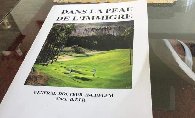 Project visual Edition d'un ouvrage : DANS LA PEAU DE L'IMMIGRE.