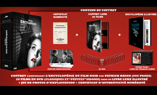 Visuel du projet Coffret Encyclopédique Collector du Film Noir Américain - Tirage limité