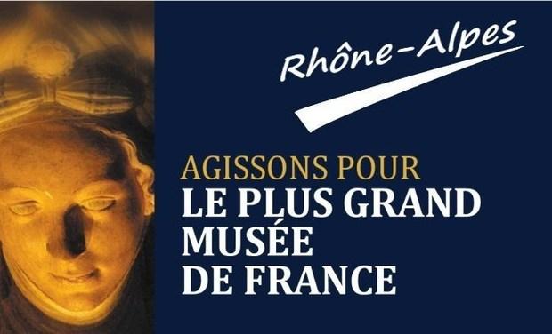 Visuel du projet Le plus grand musée de France- Région Rhône-Alpes