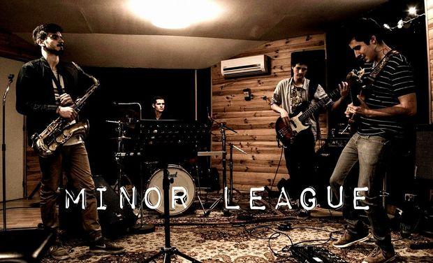 Visuel du projet Minor League - Enregistrement du 1er EP