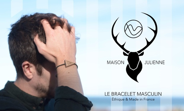 Project visual Maison Julienne : Le Bracelet Masculin Éthique & Made In France