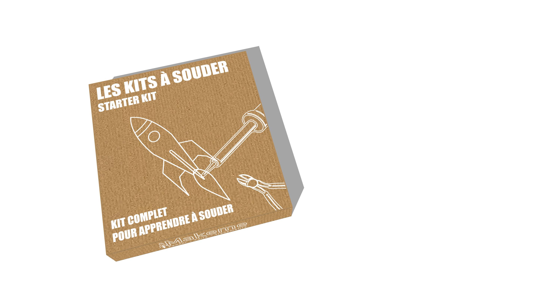 Image du projet Les Kits à souder Makeme : 1, 2, 3, Fabriquez !