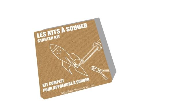 Visuel du projet Les Kits à souder Makeme : 1, 2, 3, Fabriquez !