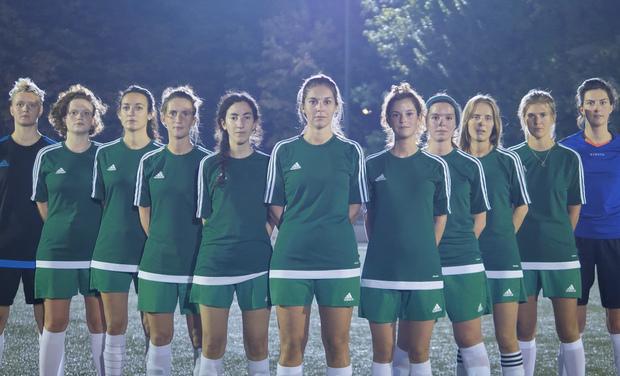 Visuel du projet Soutenez le football féminin, aidez la Kompany !