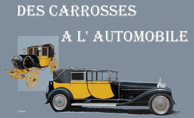 Visuel du projet DES CARROSSES A L'AUTOMOBILE  une histoire de la carrosserie française