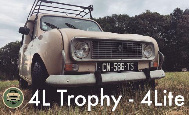 Visuel du projet 4L Trophy - 4Lite